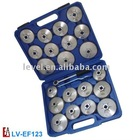 Aluminium Oil Filter Cap Wrench Set 23pc