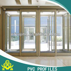 Extruded PVC Plastic Profile for sliding window