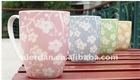 Hot Sale plum flower style mug