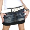 Women jeans skirts