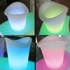rechargeable bar illuminated led ice bucket