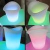 rechargeable bar illuminated led ice bucket