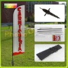4m outdoor advertising flying banner, trade show display equipment