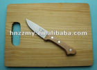 Alibaba Color Chopping board with knife