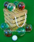 Boules Bocce Petanque Set Lawn Bowling Ball