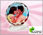 Photo Crystal/Sublimation Crystal-Sunflower 80mm