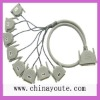 HDMI 37pin-M to 8DB 25PF Cable connector