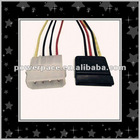 ATA Data Power Cable Assembly with 4-pin Pitch 2.0 Housing
