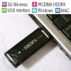 3G Wireless Modem HSDPA USB Stick/WCDMA 900-2100MHz/USB Interface/Windows MAC OS