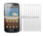 Anti Scratch Screen Protectors for Samsung GT-i8160 Galaxy Ace 2 II - Films
