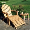 (W-D-0775) wooden lounge chair