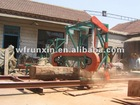 Horizontal Portable band sawmill (electric and diesel engine)