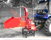 FRD-8h Tractor-mounted Wood Chipper