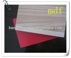 mdf plywood prices / cheap mdf / blue laminated melamine mdf board
