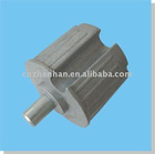 60mm aluminum rounded end plug for awning blind-outdoor awning blinds component