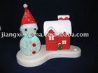 Christmas gift plastic snowman light decoration night light