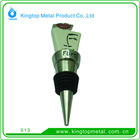 Kingtop Metal Bottle Stoper with Customized Shape
