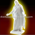 Religious White Marble Figure Statue Of Man