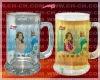 porcelain Magic mug,advertising color changing mug