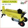 Electric Log Splitter Woodworking Machine Log Cutter