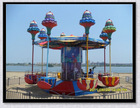 Exciting special design park rides for kids happy jellyfish with competitive price