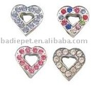 10mm Crystal Slide Charm,Pet Charm,Pet Fashion