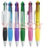 2012 4colour plastic ballpoint pen for school