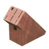 7-slot bamboo knife block