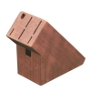 7-slot bamboo knife block