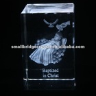 2012 newest 3d laser crystal cube