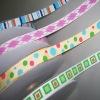 Custom printing polyester grosgrain ribbon