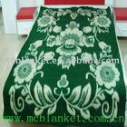 Recycle jacquard brushed blanket