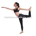 Metroo new women great fit mesh bottom back zippe pocket long tights yoga pants