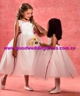 Best selling Free jacket flower girl dress