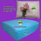 disposable CPE mattress cover (CPE bed cover, PVC pillow cover)
