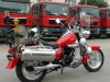 fire fighting motorcycle FM250 with water mist