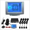 car LCD parking sensor system/parking guidance system