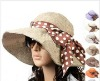 2012 fashion DOT beach hats