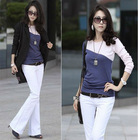 2012 Latest Design Women Cotton shirt In Apparel