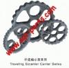 RV gear of excavator