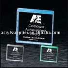 Lucite Square Paperweight Acrylic Award