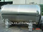 Sanitary stainless steel horizontal storage tank