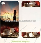 silicone material sticker mobile phone screen protector for apple iphone 4s 4g