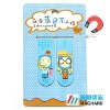 promotion gift items Magnetic bookmark set of 2 cartoon