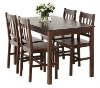 pine dining table set,4 seats
