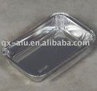 Convenient aluminium foil carry-out container