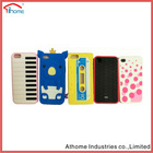 the newest soft 3d animal silicone case for iphone 4 4s