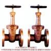 Bronze rising stem type gate valve