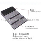 Cotton and polyester conveyor belt