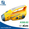 A306 Dynamo and Solar Radio With LED Flashlight